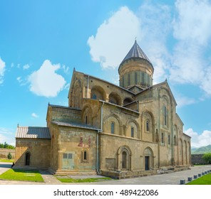The Svetitskhoveli Cathedral is the symbol of Mtskheta, its main religious, cultural and historical site, Georgia.