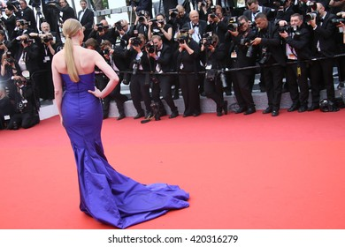 Svetlana Khodchenkova attends he screening of 'The BFG' at the annual 69th Cannes Film Festival at Palais des Festivals on May 14, 2016 in Cannes, France.