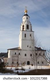 Sviyazhsky Theotokos-Uspensky Monastery. Church of St. Nicholas the Wonderworker. Tatarstan. Russia.