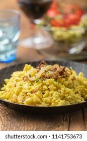 swabian spaetzle a typical noodle dish