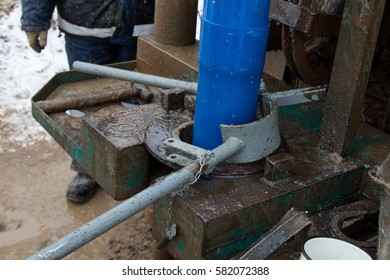 swage pipe during drilling