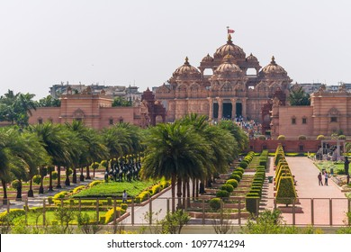 Swaminarayan Akshardham in Delhi, India.