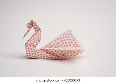 A swan origami