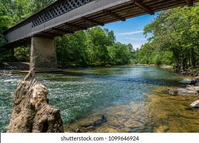 Swann covered bridge, Blount County, Alabama