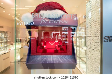 920ff75fcd Swarovski shop at Mega Bangna, Bangkok, Thailand, Nov 16, 2017 : Autrian