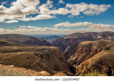 The Swartberg Pass runs through the Swartberg mountain range in the Karoo in the Western Cape province of South Africa