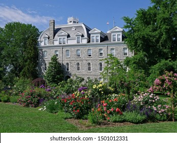 SWARTHMORE, PENNSYLVANIA - MAY 2019:  Swarthmore is one of the best small colleges in the United States, with a beautifully landscaped campus. - Shutterstock ID 1501012331