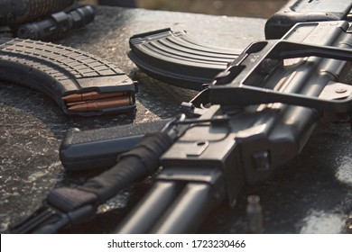 swat rifle cartridge soldier shooting commando