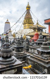 Swayambhunath Temple (Monkey Temple) in Kathmandu, Nepal