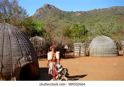 Imágenes, fotos de stock y vectores sobre Village Swazi