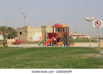 SWCC park in Jubail, Saudi Arabia