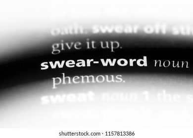 Swear Word In A Dictionary Concept