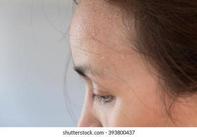 Sweat head girl