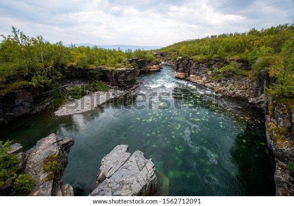 Sweden Abisko national park Kings road