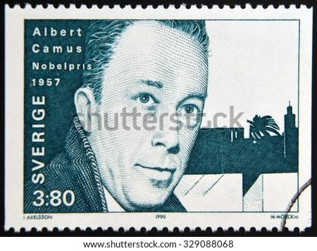 SWEDEN CIRCA 1990 Stamp Printed Sweden Stock Photo Edit Now