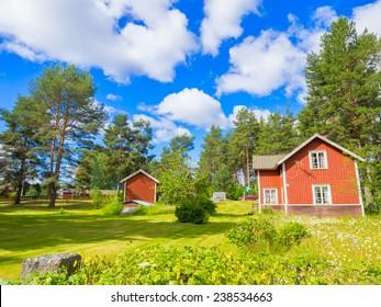 Sweden cottage