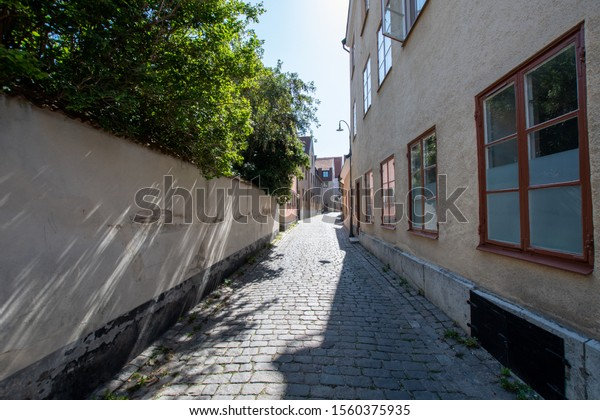 Sweden, Gotland Visby old town