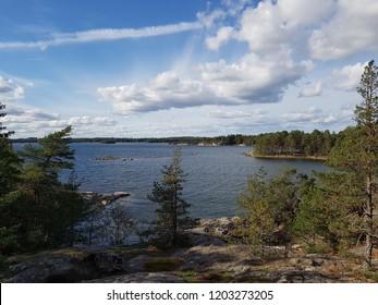 Sweden Nature Watter Hill