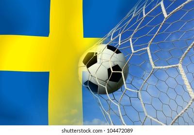 Sweden  soccer ball