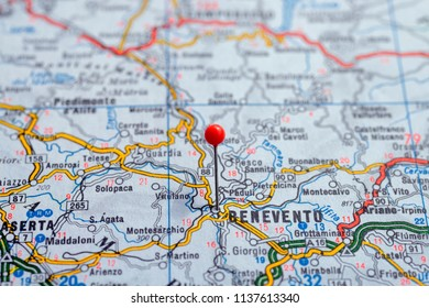 Close Wien Map Red Pin Travel Stock Photo (Edit Now) 181421366 ...