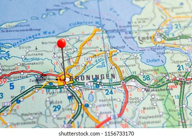 Groningen Map Stock Photos, Images & Photography | Shutterstock