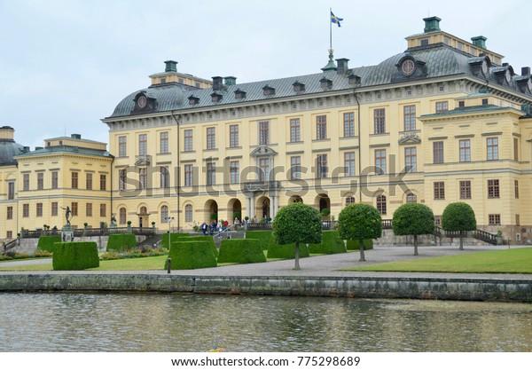 Sweden Stockholm world heritage Drottningholm Palace