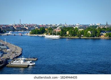 Sweden Stockholm zaliv vid s verxy - Shutterstock ID 1824944435