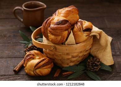 Swedish cinnamon rolls dessert for breakfast