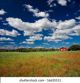 Swedish countryside scenery
