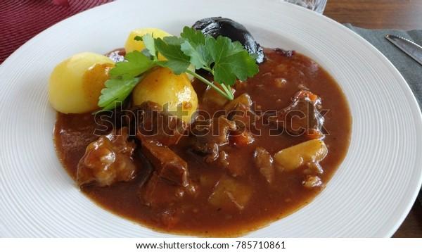 Swedish food plate