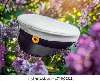 Swedish graduation cap , close up