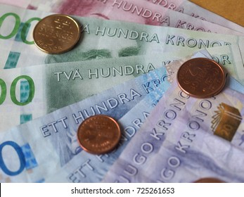 Swedish Krona banknotes money (SEK), currency of Sweden