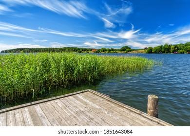 Swedish lake scenery - summer season - Shutterstock ID 1851643084
