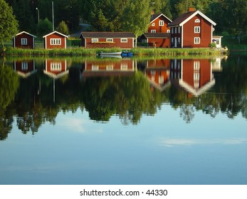 Swedish lakeside
