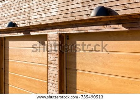 wood garage door texture. Swedish Modern Residential Wooden Garage Doors Texture Sunny Lamps Wood Garage Door Texture