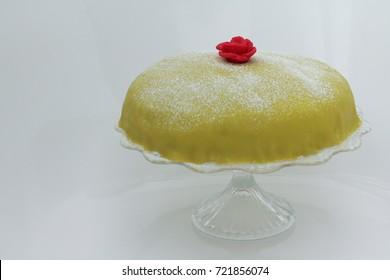 Swedish princess cake.