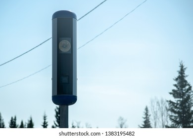 Swedish radar speed control camera