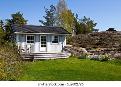 Swedish summerhouse.