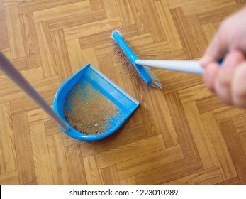 person sweeping floor stock photos images photography shutterstock shutterstock