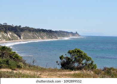 A sweeping scenic view of the Pacific Ocean and the California coastline
