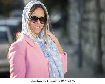 Sweet 60's with scarf