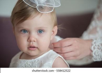 Sweet baby girl . Baptism, Wedding & Fashion