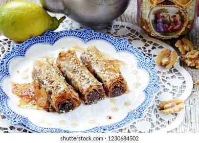Sweet baklava - Turkey tradition