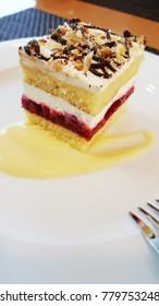 sweet cake, cafe