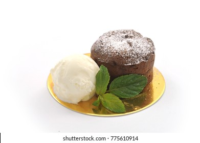 Sweet cake isolated on white background. luxury sweets for the restaurant menu