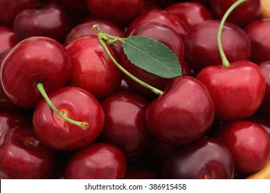 Sweet cherry background