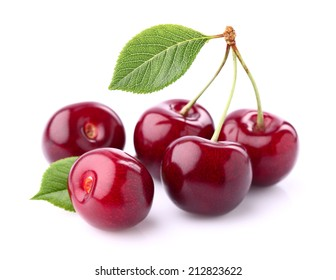 Sweet cherry in closeup