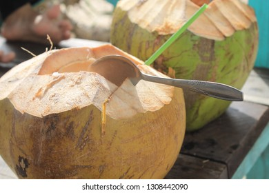 Sweet coconut water