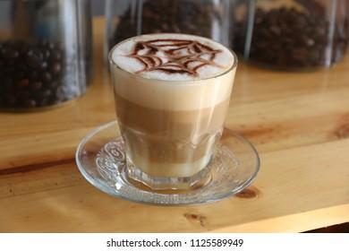 sweet coffee cappucino