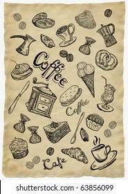 Sweet  coffee paper
